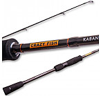"CRAZY FISH Kaban Twich&Jig Rod KB692MH-T 6'9""(2.09m), 7-28g, PE #0.6-#1.5, SiC guides, 30T carbon blank,m.fast, spinings"
